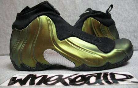 Nike Air Flightposite Retro Metallic Gold Black Now Available
