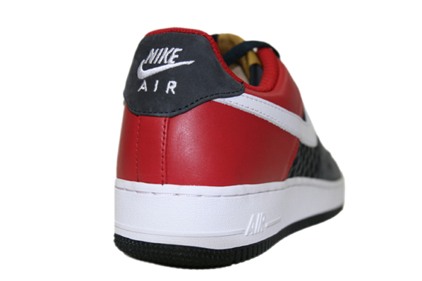 Nike Air Force 1 Premium Birds Nest Black / Stealth / Red