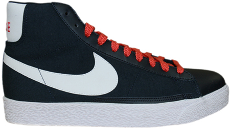 Nike Blazer High Dark Obsidian / White - Sunburst