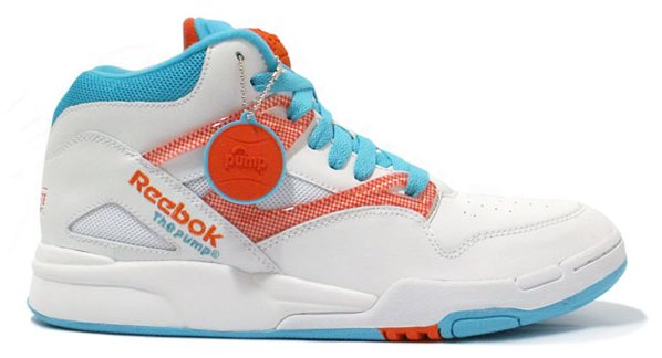 Reebok Pump Omni Lite - White / Sax / Orange