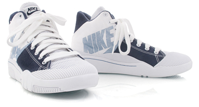 Nike Womens Outbreak High - Navy / White