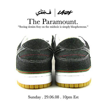 SBTG x Lazy - The Paramount Dunk Low