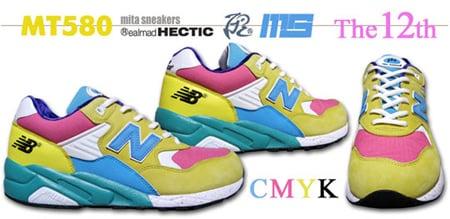 Mita Sneakers x realmadHectic x New Balance MT580 - CMYK