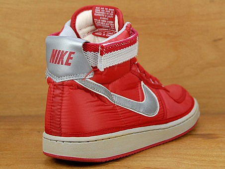 Nike Vandal High Vintage Supreme - Varsity Red / Metallic Silver