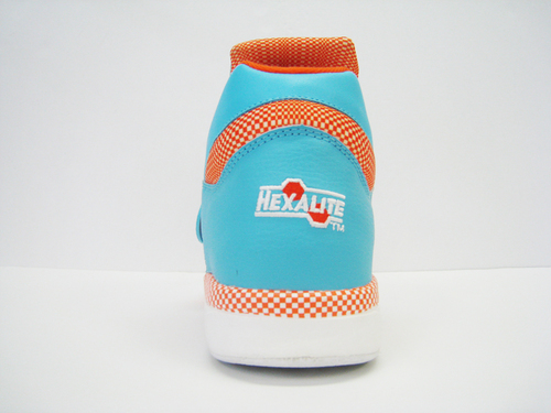 Reebok Pump Court Victory Aqua / Orange