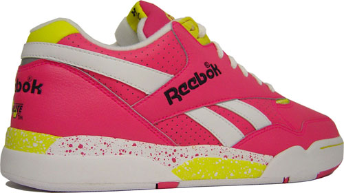 Reebok Reverse Jam Low and Mid Pink/Yellow at Purchaze
