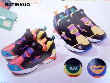 Reebok Insta Pump Fury x XLarge and X-Girl