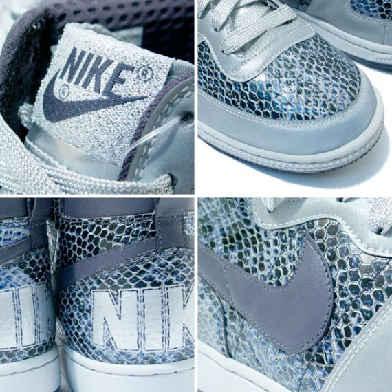 Nike Terminator High Supreme - Snake Skin / Silver / Navy