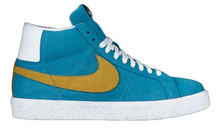 Nike SB Blazer -  Aurora Blue / Varsity Maize