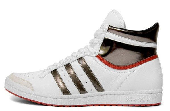 As opposed to the Hi top style that is made up of white, red,
