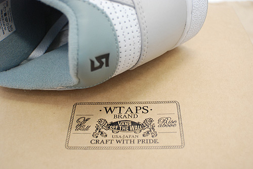 WTAPS x Vans Syndicate Bash S