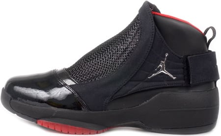 Air Jordan 19 (XIX) Retro Black / Chrome - Varsity Red Countdown