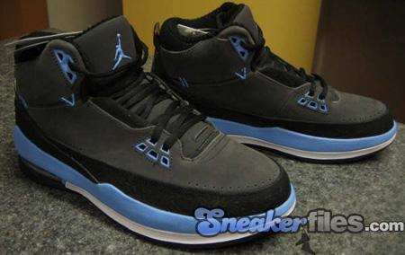 Air Jordan 2.5 Black / University Blue - White