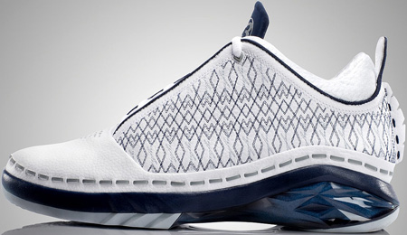 Air Jordan XX3 (23) Low White / Midnight Navy - Silver