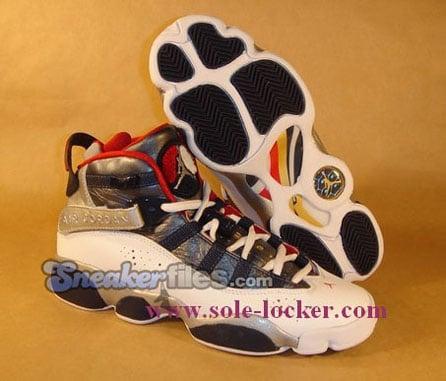 best website c6311 e18b2 Air Jordan 6IX (Six) Rings Olympic Detailed Look | SneakerFiles