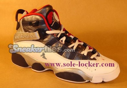 Air Jordan 6IX (Six) Rings Olympic Detailed Look