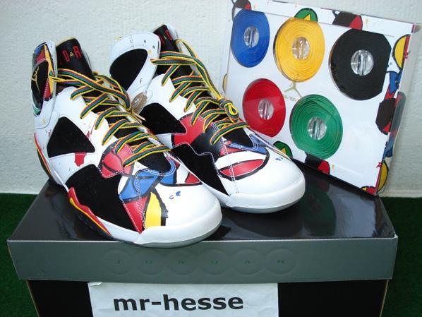 Air Jordan 7 (VII) Retro Miro Olympic Celebration Pack on eBay ... 4e7e6a6539