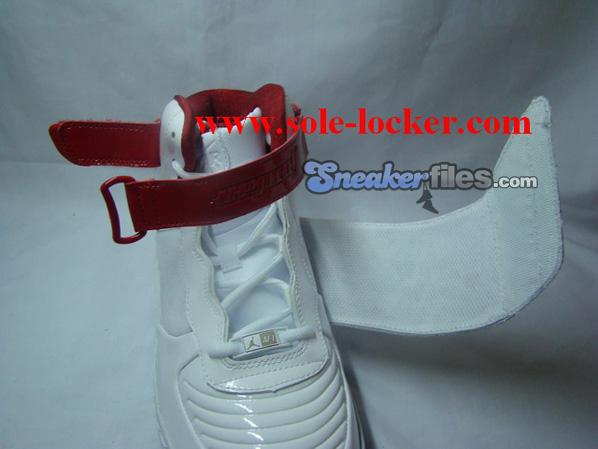 Air Jordan Force Fusion 20 (XX) White / Black - Varsity Red