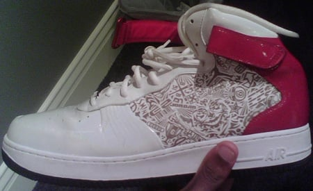 Air Jordan Force Fusion 20 (XX) White / Red - Black Sample