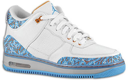 Air Jordan Force Fusion 3 (III) White / University Blue Sunset Released