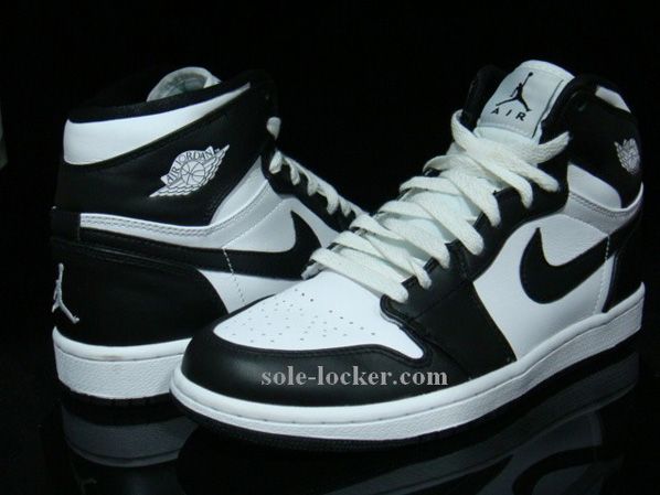 Air Jordan 1 Noir Et Blanc 2008