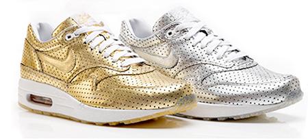Nike Air Max 1 Olympic Perforated Metallic Pack