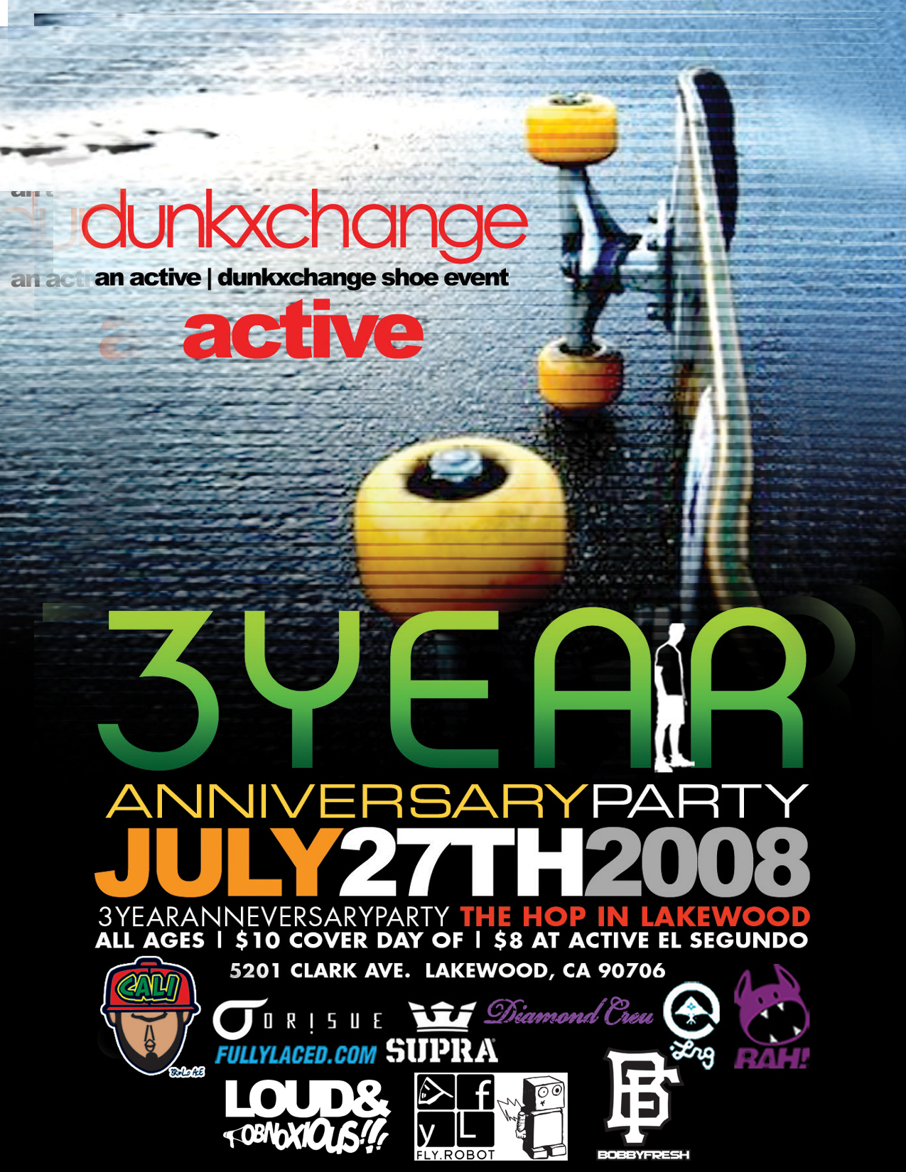 DunkxChange 3 Year Anniversary Party!!!!