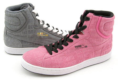 Puma First Round Repeat - Grey | Pink