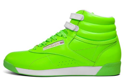 Reebok Womens Freestyle Hi