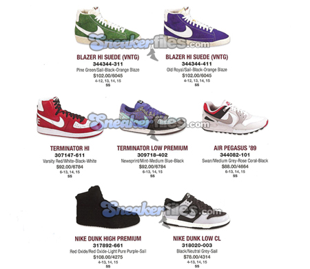 Nike March 2009 Preview