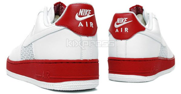 Nike Air Force 1 Low Olympic Octagon White / White - Varsity Red