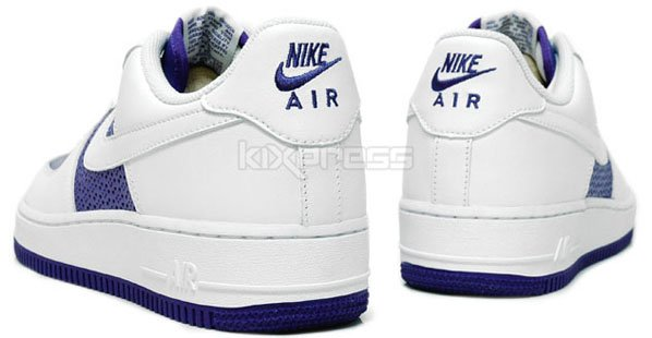 Nike Air Force 1 Womens Low Olympic Octagon Varsity Purple / White