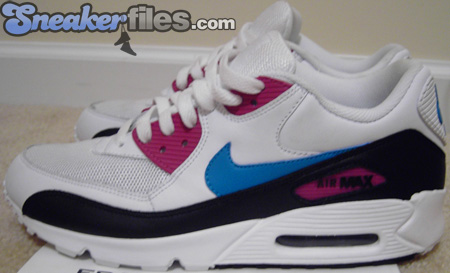 Nike Air Max 90 Sample White / Blue - Magenta