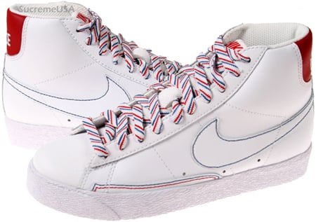 Nike Blazer High Womens 4th of July