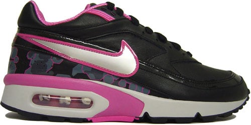 Nike WMNS Air Classic BW Black/Metallic Silver-Pink at Purchaze