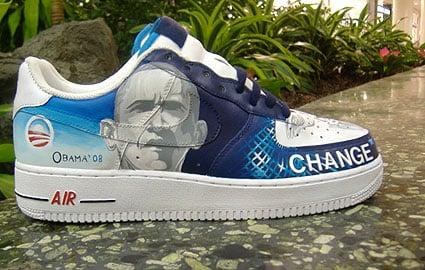 Van Taylor - The Obama Sneaker Custom Air Force 1