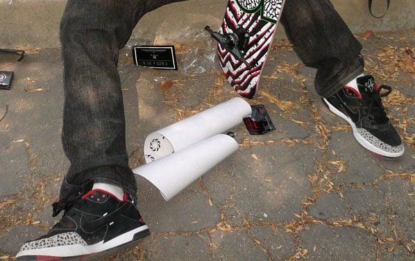 Nike SB P-Rod III Test Sample Preview