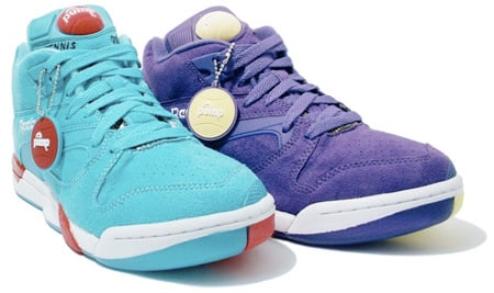 Reebok Court Victory Pump Purple Haze Pack