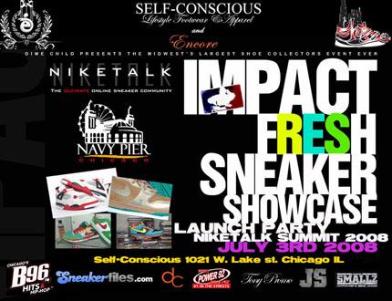 2008 Chicago Niketalk Summit and Sneaker Showcase Launch Party Tomorrow