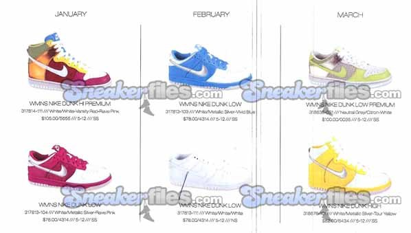 Nike Womens Urban Dunks Spring 2009 Preview