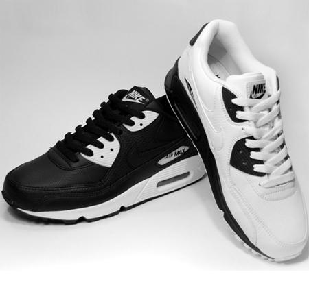 Nike Air Max 90 - Black / White | White / Black