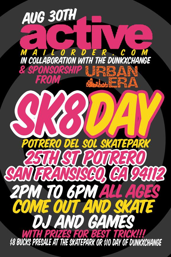 DunkXChange San Francisco August 30-31st!