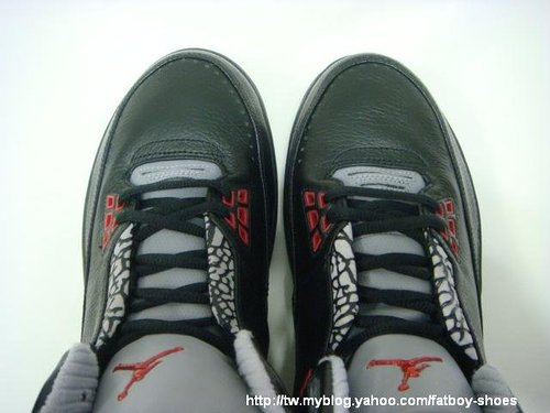 Air Jordan 2.5 Black / Red - Cement