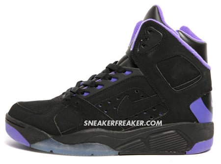 Nike Air Flight Lite - Black / Purple