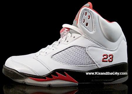 Air Jordan V (5) Fire Red Countdown Package