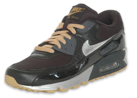 Nike Air Max 90 - Black / Silver / Gold