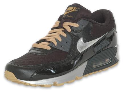 Nike Air Max 90 - Black / Silver / Gold