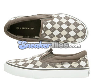 Airwalk Womens Argyle Slip-On