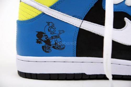 A-Trak x Nike Dunk High Running Man
