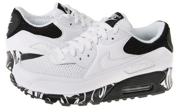 Nike Womens Air Max 90 Swirls Collection